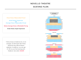 Novello Theatre Seating Chart Bb And T Floor Plan Krigsoperan