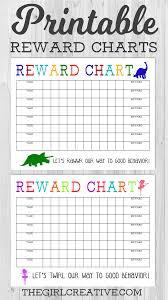 New Free Printable Reward Charts Konoplja Co