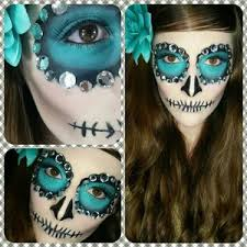 you last minute sugarskull makeup hair tutorial easy sugar skull makeup tutorial for 2016 makeup tutorial