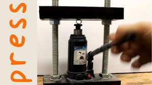 diy 5 ton hydraulic press