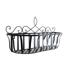metal hanging baskets for plants continental iron flower baskets hanging basket pots flowerpot shelf home decoration