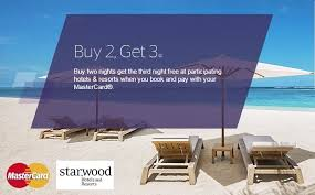 Starwood Hotels Buy 2 Nights Get 1 Free In Europe Middle