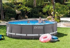 intex ultra frame above ground pools. Contemporary Frame Ultra Frame Above Ground Swimming Pool Set Model 26309EH Previous  Httpsd3d71ba2asa5ozcloudfrontnet12023232images28309eh__1 In Intex Pools