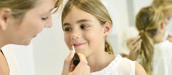 when you catch your toddler covered with lipstick it can be hard to hide a grin after all little akeup are drawn to each other like magnets