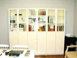 ikea glass bookshelf glass bookcase bookshelf astounding bookshelves door