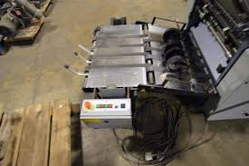 lot 24 stahl folder tc66 4 4 4 continuous feed w pafra pattern stahl folder tc66 4 4 4 continuous feed w pafra pattern gluer w