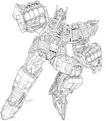 Transformers Coloring Pages Grimlock Transformers Coloring Page