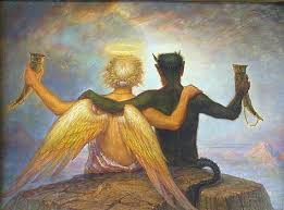 Картинки по запросу каком плече сидит ангел