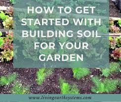 building soil for your garden