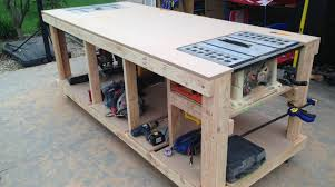 How To Build Your Own Furniture Building Your Own Wooden Workbench Make