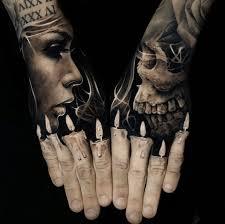 11 пальцы свечи 20 офигенных трехмерных тату которые могут сбить
