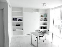 Small White Desks For Bedrooms Bedroom Minimalist White Murphy Beds With Elegant White Work Desk