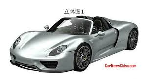 patent applied production version of the porsche 918 spyder leaks porsche has applied for patent on the porsche 918 spyder for the chinese auto market as usual the pictures leaked out so here we have a very first look at
