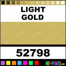 Light Gold Standard Series Acrylic Paints 52798 Light