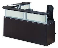 office reception desk. office source borders ii series lshape receptionist desk 6 laminate finish options reception