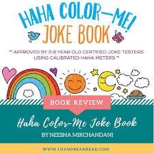 haha color me joke book