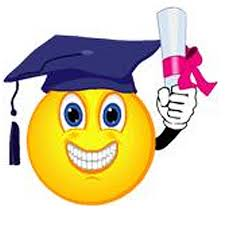 Image result for grad smile with diploma clip art