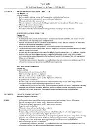 Machine Operator Resume Sample SMT Machine Operator Resume Samples Velvet Jobs 25