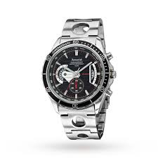mens accurist chronograph watch mens watches watches goldsmiths mens accurist chronograph watch
