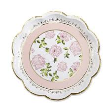 Pink Flower Paper Plates Kate Aspen 28310pk Tea Time Whimsy Paper Plates Pink Nicen Fun