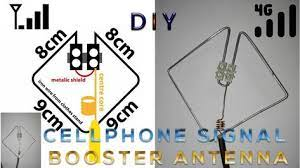 homemade cell phone signal booster how