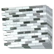 adhesive wall tiles self adhesive wall tiles self adhesive wall tile 6 pack stone adhesive wall
