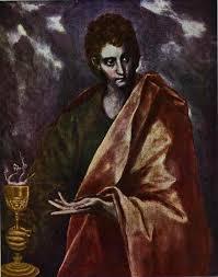 st john the evangelist 1598 1604 el greco oil painting