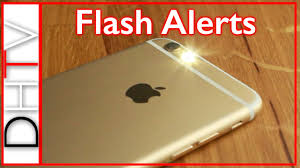 Make Light Flash On Iphone When Phone Rings How To Setup Flash Led Alerts Iphone 6s 6 5 4 Simple Tips