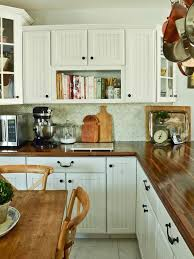 countertops popular options today:  traditional kitchen design wood countertop