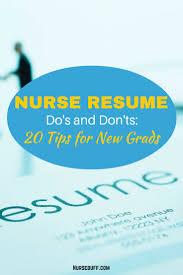 How To Write A Nurse Resume Resume Peppapp
