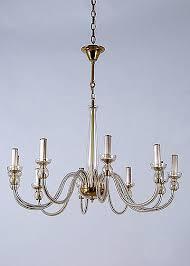 vintage bohemian glass chandelier