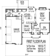 2500 sqft 2 story house plans lovely floor plans 3000 square feet homes floor plans