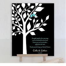 best personalized gift for brother best man gift from groom handmade gift with a heartfelt thank you poem to your brother in law 1091 paper metal