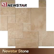 Versailles Tile Pattern Inspiration Dark Yellow Limestone Versailles Pattern Travertine Tiles Buy