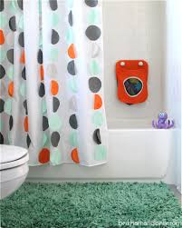 cool shower curtains for kids. Beautiful Shower DIY Kids Shower Curtain Land Of Nod Inspired Inside Cool Curtains For O