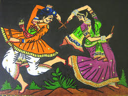 indian folk painting