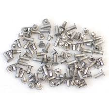 crafted findings aluminum jewelry rivet 1 16