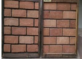 china customized exterior faux brick panels thin brick veneer for fireplace tv walls decration