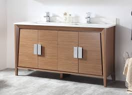 Modern double sink vanity Luxury Modern Bathroom Details About 60 Ebay 60