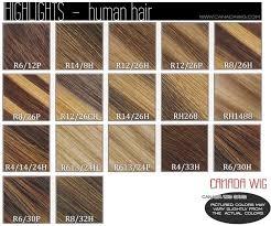 Wig Color Chart Estetica Designs Wig Color Charts