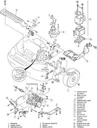 Mazda protege engine diagram graphic elemental include 03 17 c c