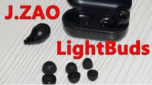 Обзор J.ZAO LightBuds беспроводные <b>TWS</b> наушники c <b>Bluetooth</b> ...