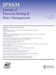 Personal Journals For Sale Journal Of Personal Selling Sales Management Vol 39 No 3