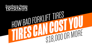 How Bad Forklift Tires Can Cost You 18 000 Or More