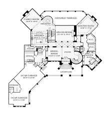 mediterranean style house plan 5 beds 6 baths 9104 sq ft plan House Plans Cost Build Calculator floor plan main floor plan Average Cost for House Plans