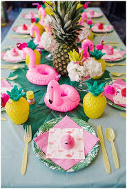 pineapple flamingo party supplies