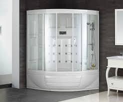 treat yourself to a steam shower in the comfort of your own home as often as you like just press a on in your shower stall and relax