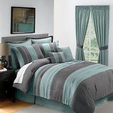 king size comforters on sale. Perfect King King Bedding Sets Green Grey  Sale 8PC King Size Blue Gray Pintucked  Comforter Set EBay And Comforters On I