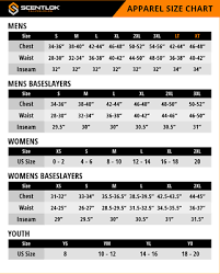 Scentlok Size Chart Details About Scentlok Youth Alpine Hunting Hoodie Realtree Xtra 85100 Size Youth Large 14 16