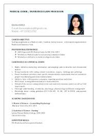 medical coding resume. Medical Coder Resume Medical Billing And Coding Resume Medical Coder